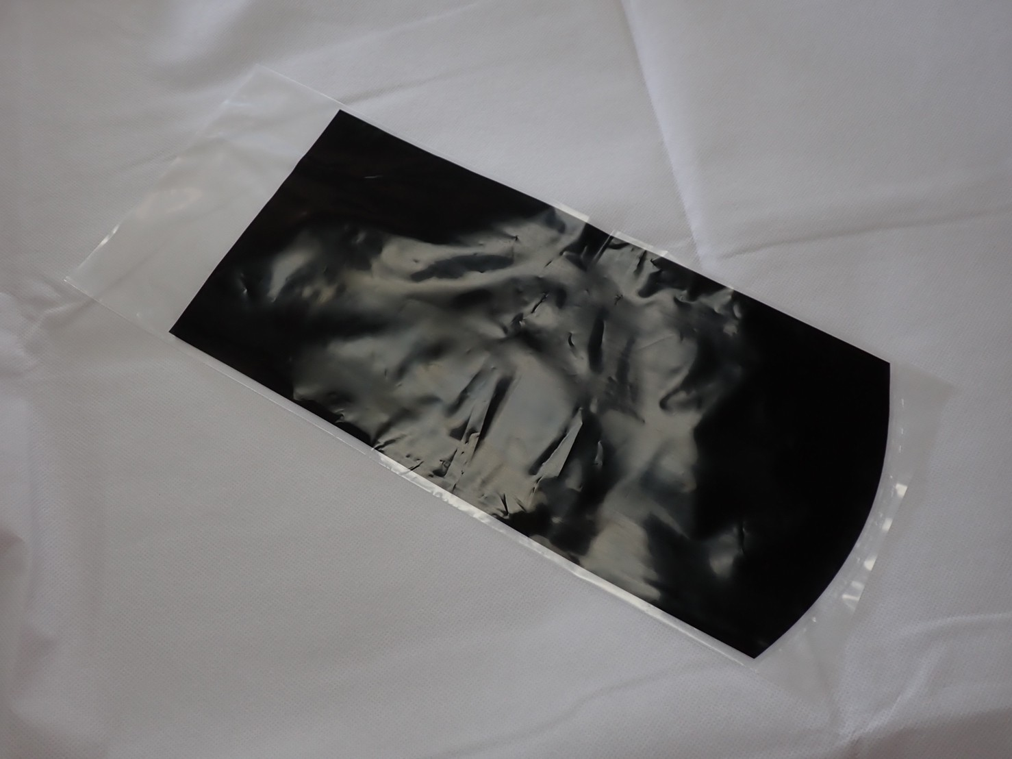 R-16B 片面黒印刷 NEW ARRIVAL 梱包用袋 10枚 マーケット パッキング袋 魚にストレスを与えない 丸底タイプ 色落ち防止 メダカ用発送袋 60サイズにピッタリ