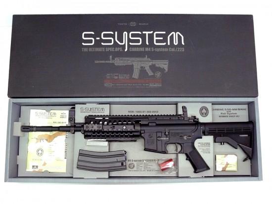 [東京マルイ] M4 S-SYSTEM/[中古] ランクB/欠品なし 箱に傷みあり/電動ガン
