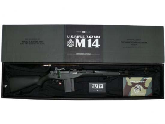 [東京マルイ] U.S.ライフル M14 ファイバータイプODストックver./[新品]/新品です。/電動ガン