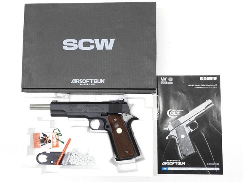 [WA] SCW ボブチャウ スペシャル バージョン2/[中古] ランクA/欠品なし/ガスガン