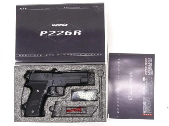 [KSC] SIG P226R/[中古] ランクA/欠品なし/ガスガン