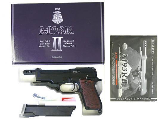 [KSC] M93R II ファーストバージョン システム7(07HK) ABS/[中古] ランクA/欠品なし/ガスガン