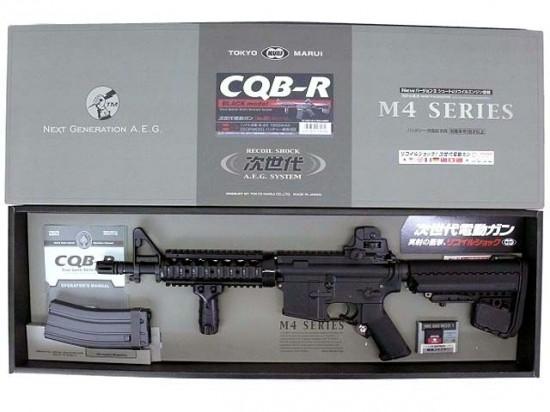 [東京マルイ] M4 CQB-R ブラック 次世代電動ガン/[新品]/新品です。/電動ガン