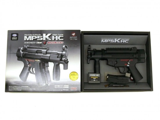[東京マルイ] MP5K HC ハイサイクル/[中古] ランクA/欠品なし/電動ガン