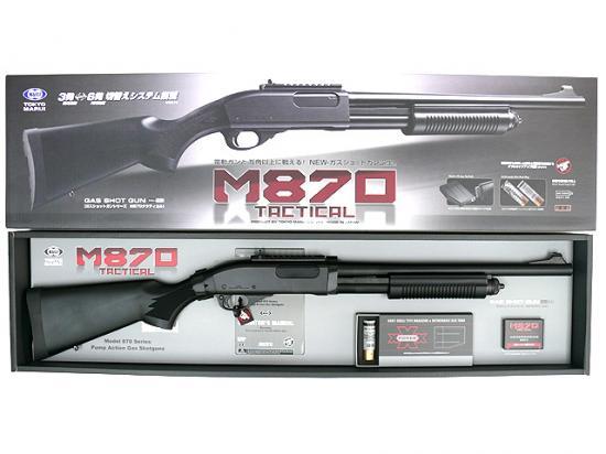 [東京マルイ] M870 タクティカル/[中古] ランクB/本体 説明書のみ/ガスガン