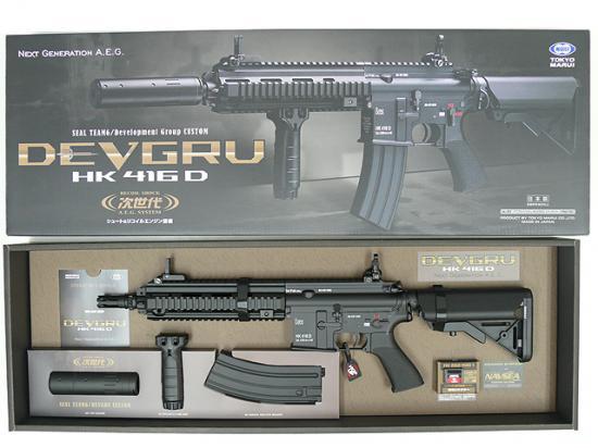 [東京マルイ] HK416D DEVGRUカスタム 次世代電動ガン/[中古] ランクA/欠品なし/電動ガン