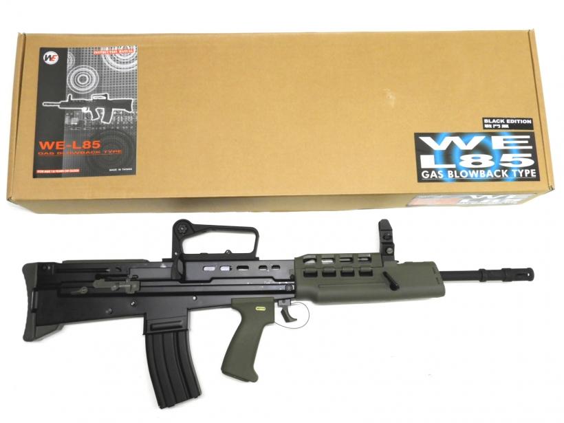 [WE] L85A2 GBB オープンボルト BK/[新品]/新品です。/ガスガン