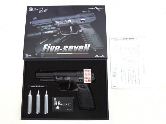 [マルシン] FN 5-7 CO2ブローバック 6mm/[中古] ランクA/欠品なし/ガスガン