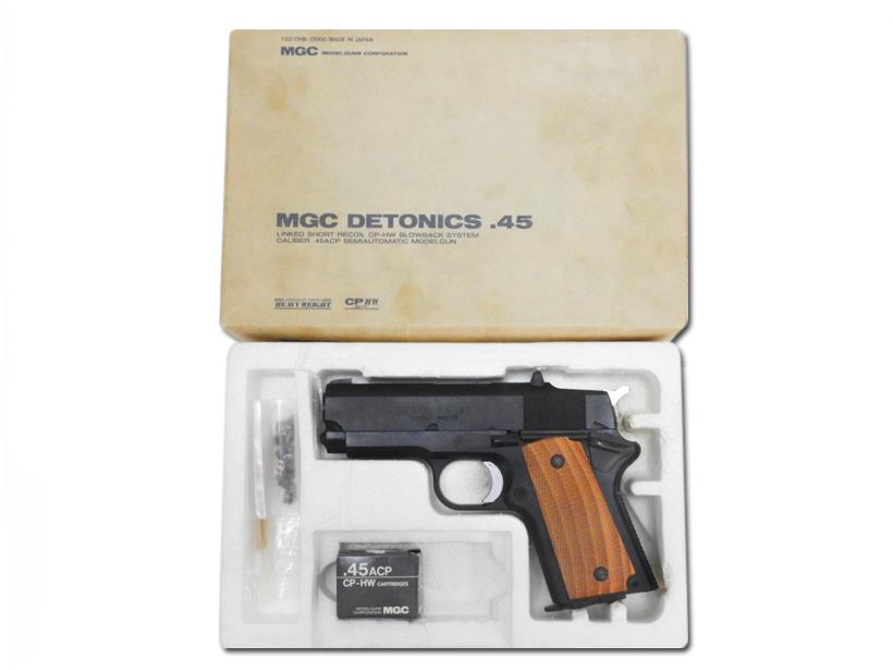 [MGC] デトニクス.45 コンバットマスター HW/[未発火] ランクA/欠品なし/モデルガン