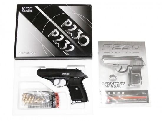 [KSC] P230 JP HW ブローバックモデルガン/[未発火] ランクA/極美品 欠品なし/モデルガン