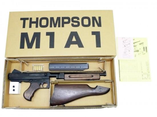 [CAW] トンプソン M1A1 ハドソンリバイバル/[未発火] ランクB/欠品なし/モデルガン