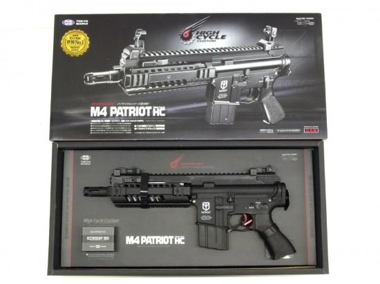 [東京マルイ] M4 パトリオット HC ハイサイクル/[新品]/新品です。/電動ガン