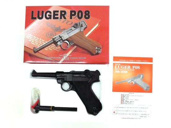 [タナカ] ルガーP08 4インチ HW ガスブローバック/[新品]/新品です。/ガスガン