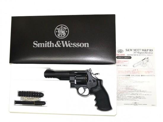 [タナカ] S&W M327 M&P R8 .357マグナムリボルバー 5インチ HW Ver.2/[新品]/新品です。/ガスガン