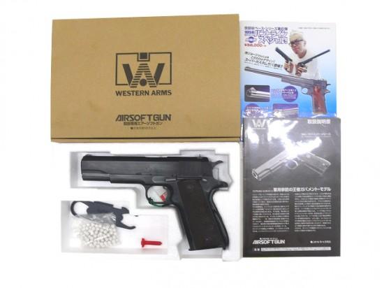 [WA] コルト M1911A1 パールハーバー Ver./[中古] ランクA/欠品なし/ガスガン