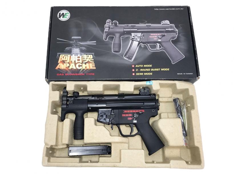 [WE] H&K MP5K/クルツ ガスブローバック/[中古] ランクA/欠品なし 箱に傷みあり/ガスガン