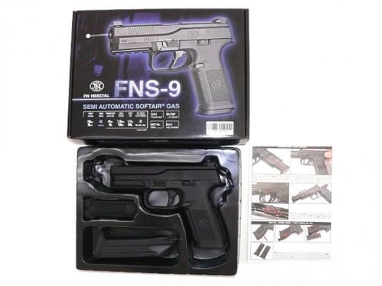 [Cybergun] FNS-9 ガスブローバック ピストル ブラック/[中古] ランクA/欠品なし/ガスガン
