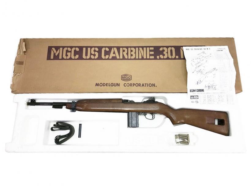 [MGC] U.S.カービン 30. M1 モデルガン/[中古] ランクB/外箱 本体のみ カートリッジなし 箱に傷みあり/モデルガン