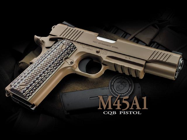 [東京マルイ] M45A1 CQBピストル/[新品]/新品です。/ガスガン