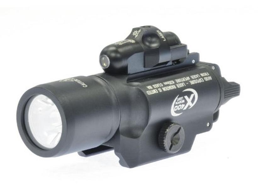 [NB] SUREFIRE X400型 LEDウェポンライト/[中古] ランクB/欠品なし/スコープ・ライトなど
