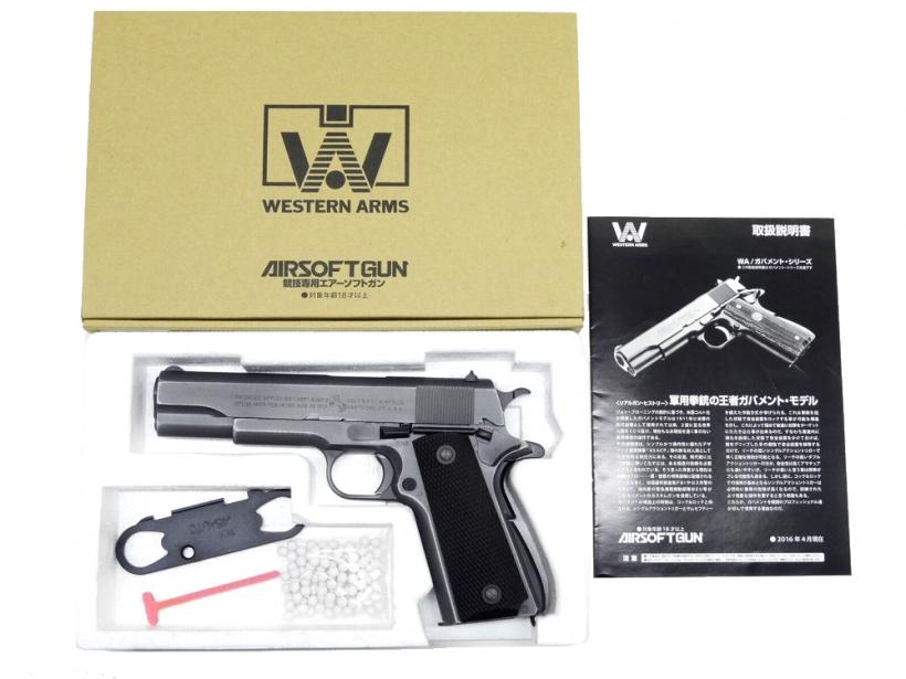 [WA] コルト M1911A1 プライベートライアン [WA]/Private Ryan コルト newバトルダメージVer./[中古] ランクA/欠品なし/ガスガン, ゴルフボンバー:53e55f77 --- jphupkens.be