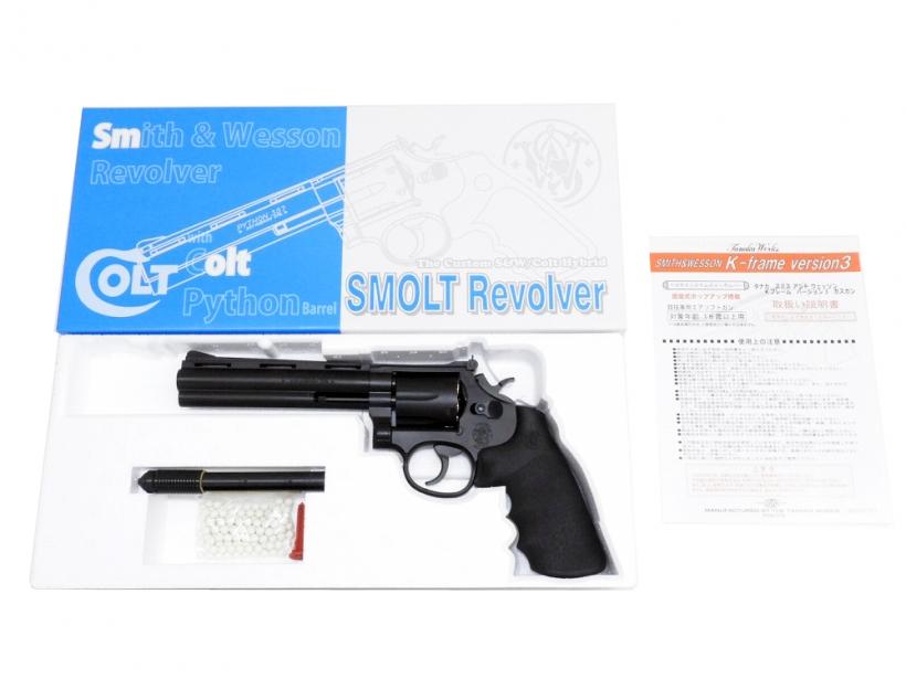 [タナカ] SMOLT/スモルト リボルバー 6インチ HW Ver.3 スマイソン/[新品]/新品です。/ガスガン