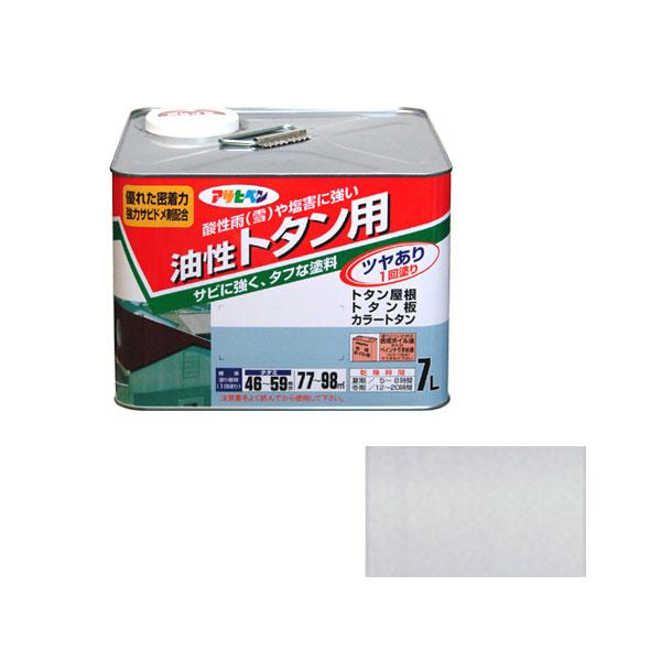 クーポン利用で最大1000円割引 アサヒペン トタン用 7L (銀) AP9010292 4970925514103