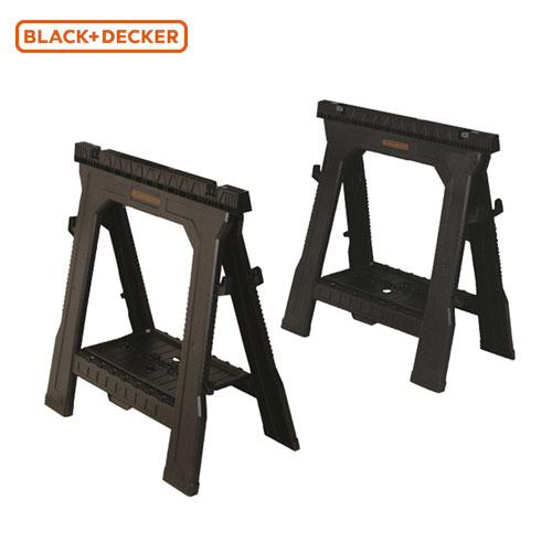 ブラックアンドデッカー(黒&DECKER) ソーホース 作業台 [2台セット] BDST60960ブラック&デッカー 黒+DECKER
