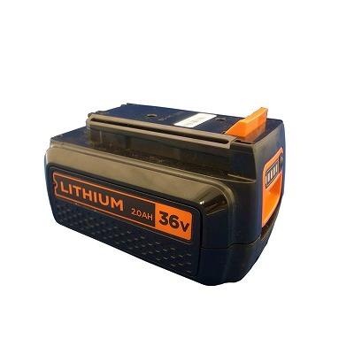 ブラックアンドデッカー(黒&DECKER) 36V 2.0Ahリチウムイオンバッテリー BL2036ブラック&デッカー 黒+DECKER