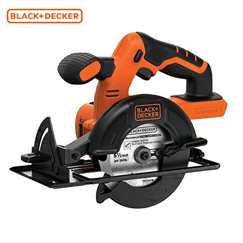 【最大500円OFFクーポン付】BLACK&DECKER[ブラック&デッカー] 18V コードレス丸ノコ BDCCS18