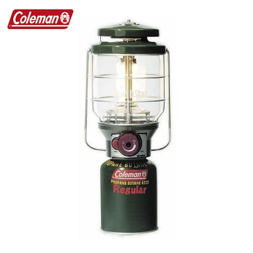 Coleman[コールマン] ガスランタン 照明 ライトCM 2000015520 2500ノーススターLPガスランタン[グリーン]