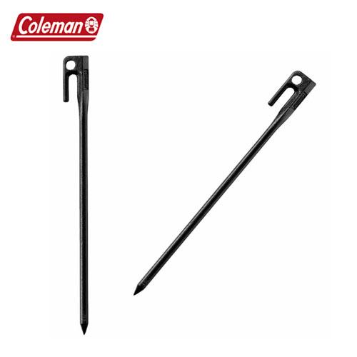 Coleman[コールマン] ペグ クギ 釘CM 2000017188 スチールソリッドペグ 30cm [ブラック] 1pc