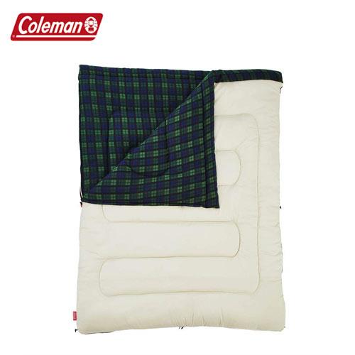 コールマン(Coleman) 寝袋 寝具 フリースアドベンチャー C0(グリーンチェック) 2000033804 スリーピングバッグ
