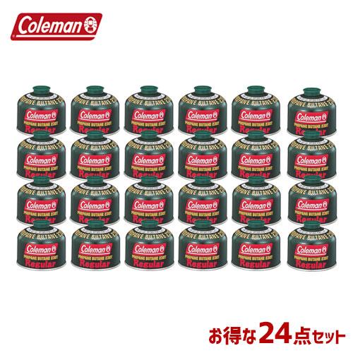 CM 5103A230T [24個セット!まとめ買い] 純正LPガス燃料[Tタイプ]230g 〔コールマン/Coleman〕