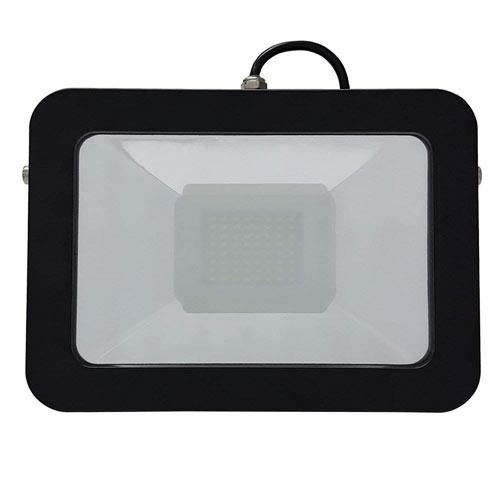 【全品5%OFFクーポン付】【富士倉】フラット投光器50W AS-050 ライト 作業用ライト 照明 現場照明