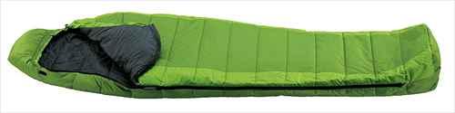 [イスカ/ISUKA]寝袋 シュラフ ウルトラライト グリーン 105202[最低使用温度10度]