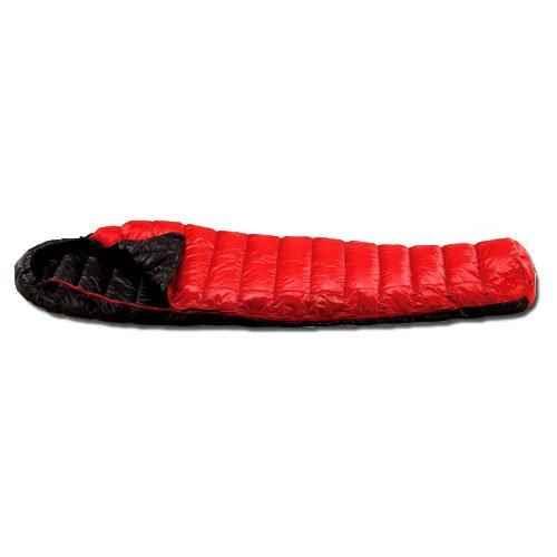 [イスカ/ISUKA]寝袋 シュラフ エア 180X レッド 137419 [最低使用温度8度]
