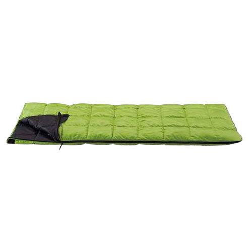 [イスカ/ISUKA]寝袋 シュラフ レクタ 200 フレッシュグリーン 139230 [最低使用温度15度]