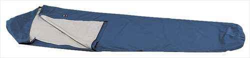 [イスカ/ISUKA]寝袋 シュラフ ゴアテックス シュラフカバー ウルトラライト ワイド ネイビー ブルー 200821