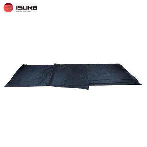 [イスカ/ISUKA]寝袋 シュラフ シルクシーツ レクタ ネイビーブルー 212121
