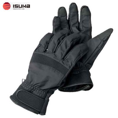 [イスカ/ISUKA]手袋 アウトドア ウェザーテック レイングローブ M ブラック 239301