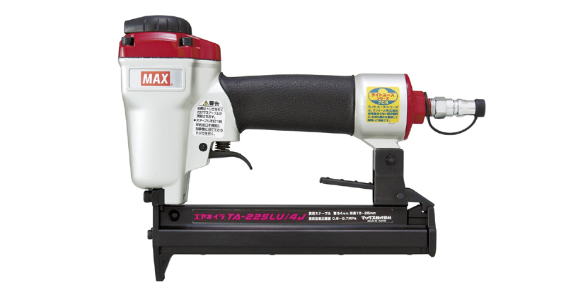 DIY工具からアウトドアブランド用品など多数商品取り扱い SS マックス MAX セール品 卸売り エアネイラ TA-225LU 4J ライトユース 4Jステープル