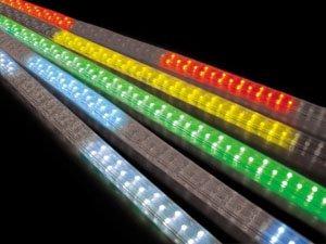 【エントリーで+P5倍】JEFCOM ジェフコム LEDソフトネオンライト 電飾 PS4C-E01-20GX ブロック点滅 20m・緑 イルミネーション