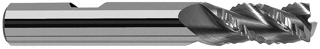 C5297-10 ユニカットセレロ 超硬ラフィング[C5297450] 超硬ラフィングエンドミル[喜一工具]