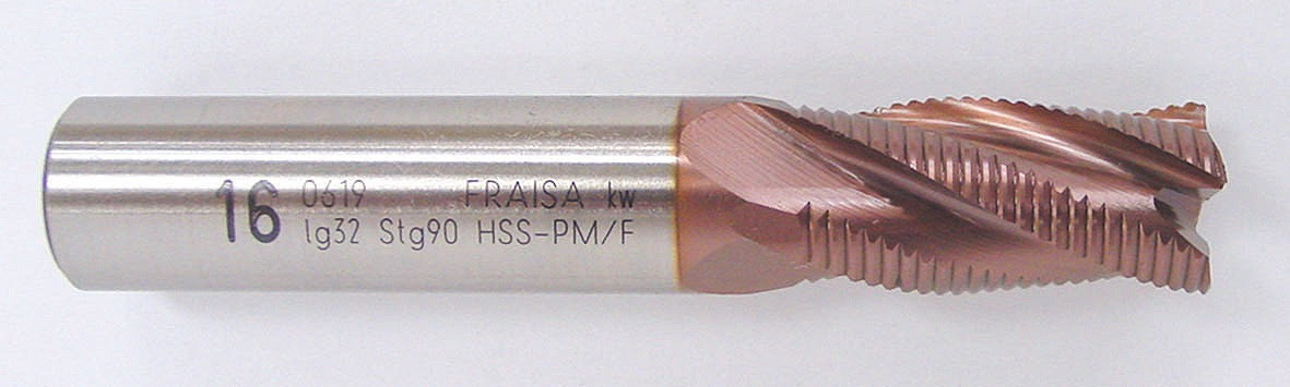 U0619-25 スープラカット TIALCN [U0619772] HSS NRC刃ラフィングエンドミル[喜一工具]