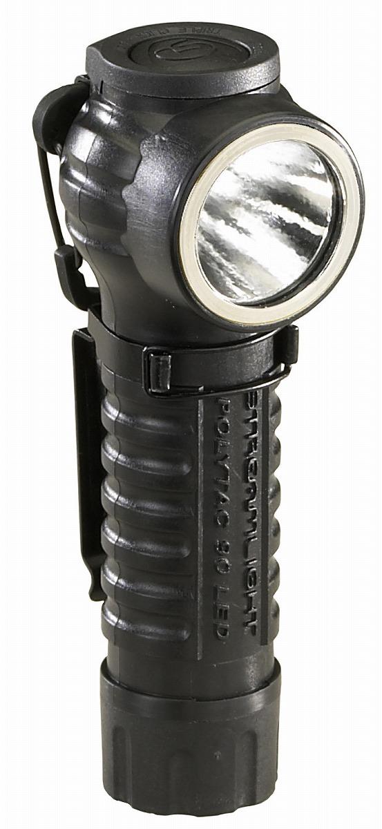 88830 ポリタック90 L型LEDライト [ブラック] LEDタクティカルライト[ポリタック90][喜一工具]★
