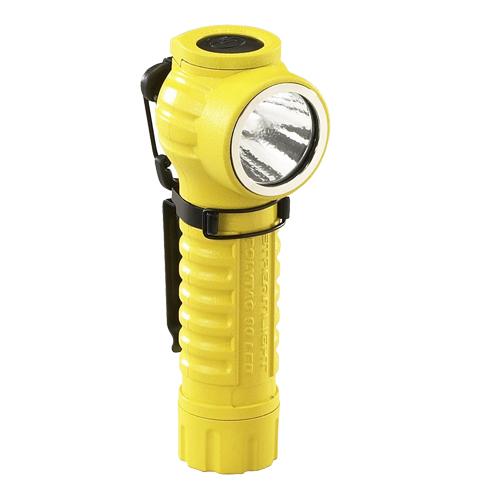 88831 ポリタック90 L型LEDライト [イエロー] LEDタクティカルライト[ポリタック90][喜一工具]★