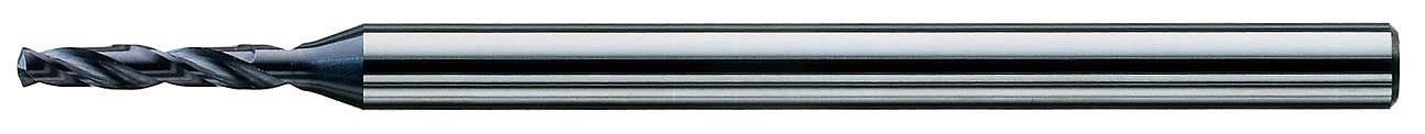 CD.040090.S 0.90MM クレイジードリル スチール用 超硬小径ドリル[喜一工具]