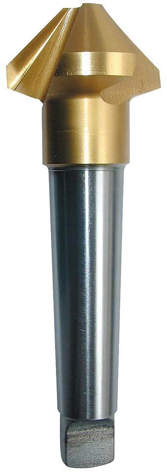 PRC-G90370M カウンターシンク 90°37.0 TIN MT カウンターシンク90°TiN3枚刃[HSS]MTシャンク[喜一工具]