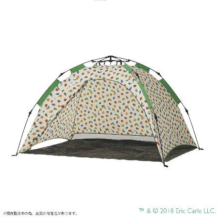 ロゴス LOGOS はらぺこあおむし Q-top フルシェード 86009001 ビーチテント ピクニックテント WHATNOT